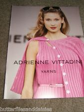 Adrienne Vittadini Spring 1995- 10 Lady's Sweaters Knitting Patterns