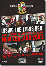 INSIDE THE LIONS DEN (DVD) LIONS RUGBY TOUR NEW AND SEALED