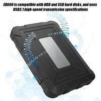 External Hard Drives ADATA-ED600 Black Hard Disk Box 2.5 Inch For Win7/8/10