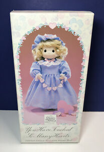 Precious Moments Limited Edition Porcelain Doll You Have Touched So Many Hearts