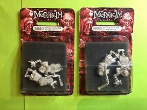 NEW WarHammer Mordheim Witch Hunter Flagellents x 2 packs 8808D Citadel