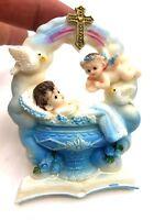 12 Baptism Party Favor Baby Angel Magnet Recuerdos De Bautizo Niño