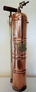 Antique French Mister sprayer watering can copper and brass Display only