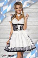 Nur handwäschegeeignete Damen-Trachtenkleider & -Dirndl knielange Größe 42