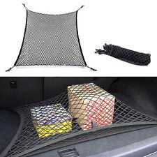 Vehicle Car Trunk Rear Cargo Organizer Storage Elastic Mesh Net Holder 4 Hooks