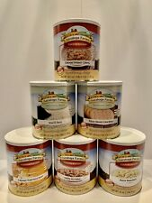 💥6💥 #10 Cans Saratoga Farms Freeze Dried Food Variety Pack Box #17