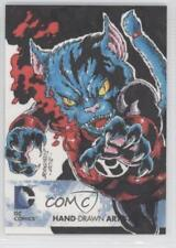 2012 Cryptozoic DC The New 52 Hand-Drawn Artist Sketches #NoN 1/1 Card 0c3