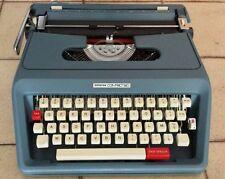 Macchina da scrivere Antares anni 70