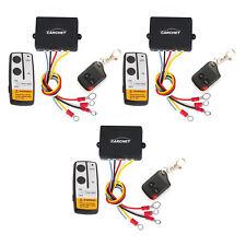 3PCS Electric Winch Wireless Remote Control System for Jeep Truck ATV Tuff Winch