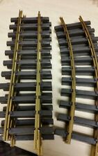 Bachmann Brass G Scale 2 4' Diameter Curve and 3 1' Straight  BAC94653 94651