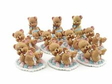 """1 Lot of 10 Bear Assortment of 2"""" Tall Polyresin Figurines"""