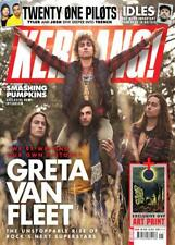 UK KERRANG! magazine October 2018 Greta Van Fleet + art print Twenty One Pilots