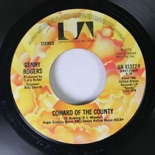 Country 45 Kenny Rogers - Coward Of The County / I Want To Make You Smile On Uni