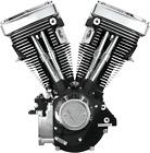 S&S Engine, V80, 508 Cam, Wrinkle Black, Cast, Harley EVO Big Twin 1984 1999