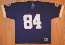Vintage Logo Athletic Nfl Jersey Hall of Famer Randy Moss #84 Minnesota Vikings