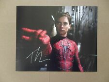 "Tobey Maguire Signed /Autographed Photo ""Peter Parker"""