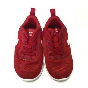 Nike Air Shoes, Toddler Size 7, Red