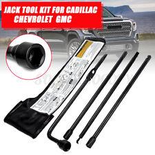 Spare Tire Lug Wrench Jack Tool Set W/Case For Chevy Silverado 1500 GMC Sierra