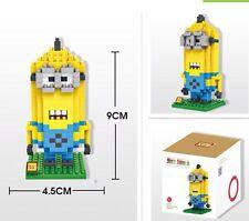 Despicable Me 2 Minion Kevin building Blocks/LEGO 220 Pieces With Designer Box