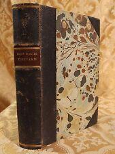 1942 Tidevand En Roman Af Hans Martin Antique Leather Danish Book