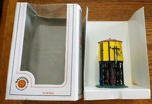 NEW BACHMANN PREASSEMBLED N SCALE WATER TOWER w/BOX, #45810