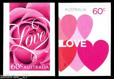 2014 Romance - Self Adhesive Pair of 2 Stamps MUH