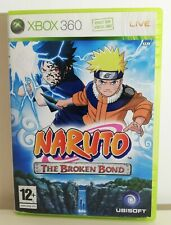 Naruto The Broken Bond Xbox 360 Game VGC Complete PAL UK Fast Free Postage