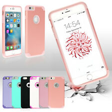 "Protective Hybrid Shockproof Soft Case Cover For Apple iPhone 7 6S 4.7/5.5"" Plus"