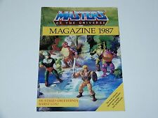 MOTU HE-MAN MASTERS OF THE UNIVERSE  '87 MAGAZINE 1987 DUTCH CATALOG MATTEL