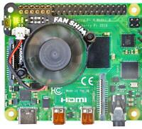 Fan SHIM CPU Cooler for Raspberry Pi 4, Pi 3A+, Pi 3B+ - PIMORONI