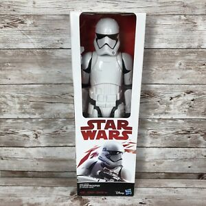 """2017 Hasbro Star Wars First Order Stormtrooper 12"""" Action Weapon Sealed"""