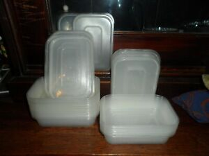clear plastic takeaway containers