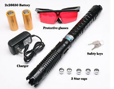 450nm THOR ULTRA Laser Pointer Blue Laser Pen Adjustable Burn Paper 1mw