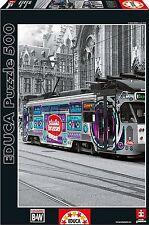 Educa 16358. Tranvía de Gante en Bélgica. Puzzle de 500 piezas. 48x34cm