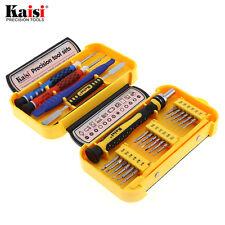 Kaisi Multi Bits Screwdriver Pry Bar Tweezer Phone Camera Toy Repair Tool Kits