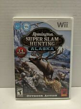 Nintendo Wii Remington Super slam Hunting Alaska with controller accessory