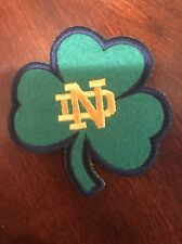 """Notre Dame Fighting Irish Vintage Embroidered Iron On Patch 3"""" x 3""""  Awesome"""