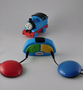 Switch adapted toy remote controlled Thomas the tank engine