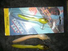 Vintage Bill Dance The Incredible Dance's Eel Lure - Nip Bonus 2 used
