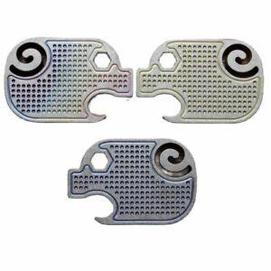 Titanium Alloy Piglet Edc Keychain Tool Bottle Opener Screwdriver Hole Pendant