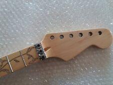 New  Maple 24 Fret Guitar Neck  Polishing For  ST Stratocaster style Guitar