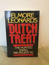 Elmore Leonard's Dutch Treat: 3 Novels The Hunted,Swag and R. Majestyk (1985) HC
