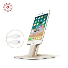 Twelve South HiRise Deluxe Charging Stand for Lighting/microUSB Devices, Gold