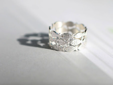 Women Ring Free Size open Koi Fish 925 Sterling Silver fashion jewelry FREE GIFT