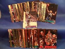 WNBA / 1999 KELLOGGS BASKETBALL - NBA COMPLETE SET (56) UD / PINNACLE CARDS