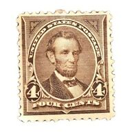 US Stamp # 254 Mint OG H $175