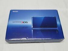 D395 Nintendo 3DS console Cobalt Blue Japan NDS w/box adapter stylus pen