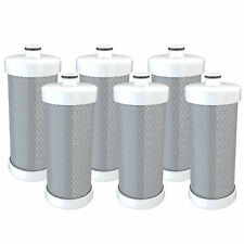 Refresh Replacement Water Filter - Fits Frigidaire RG-100 Refrigerators (6 Pack)