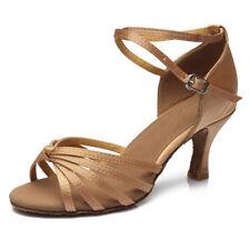11-Color Brand New Women's Ballroom Latin Tango Dance Shoes Salsa heel protector