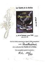 Ex-Libris Loisel - Peter Pan